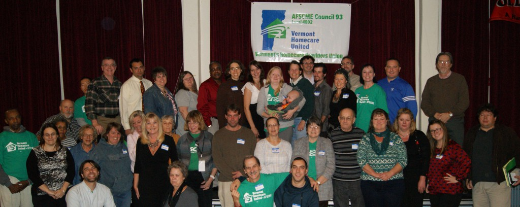 Our Founding Statewide Meeting kicks off the march toward a contract with the State of Vermont.