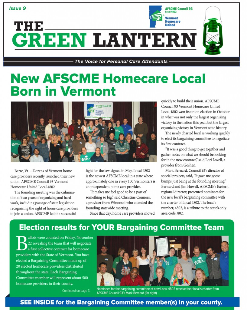 Green Lantern #9 Page 1 of 4